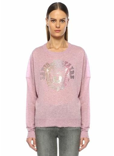 Zadig&Voltaire Sweatshirt Pembe